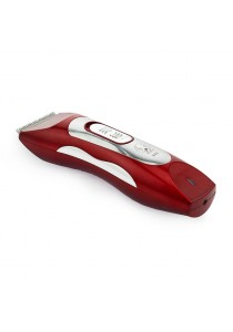 BZ-805/HS-3009 Rechargeable Electric Pet Hair Clipper (Red)
