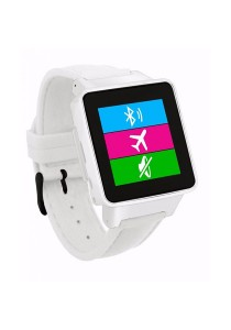 Burg 16 Smart Watch Phone with Sim Card - White