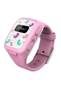 Wherecom KidFit Phone Watch Tracker - Pink