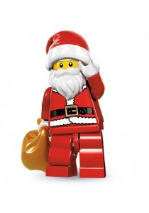 LEGO MINIFIGURE Series 8-10 Santa