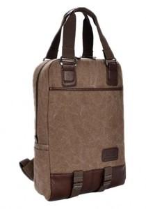 Momorain Canvas Multifunctional Backpack (Brown)