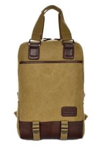 Momorain Canvas Multifunctional Backpack (Khakis)