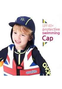 Avalon UV Protective Water Swimming Cap (Navy)