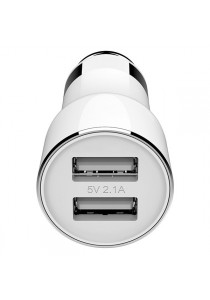 Xiaomi ROIDMI MI Car Bluetooth Player Charger Adapter Xiao Mi Fast Charging 2.4A /3.6A (White)