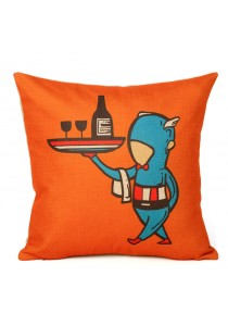 The Avengers Cushion Cover- Captain America