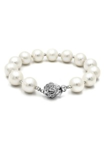 Classic Casablanca Bracelet Made With Grade AA Fresh Water Pearl