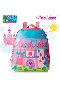 Stephen Joseph Go Go Backpack - Castle