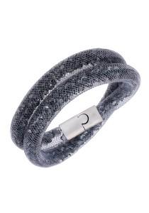 Caron Boutique Grey Stardust Double Bracelet