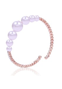 Caron Boutique Pearl Swarovski Bracelet