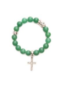 Caron Boutique Adventurine Crystal Bracelet
