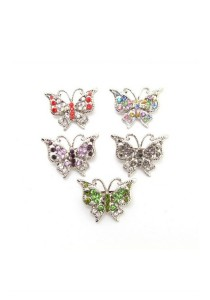 Traditional Rhinestone Brooch Medium Combo Set CBM0035K