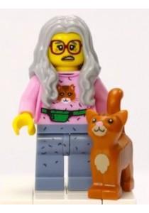 LEGO MOVIE MINIFIGURE-6 Mrs. Scratchen-Post