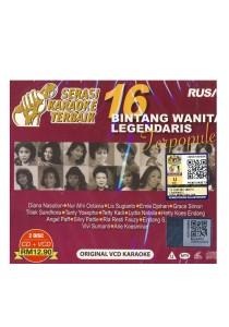 CD 16 Bintang Wanita Legendaris Terpopuler