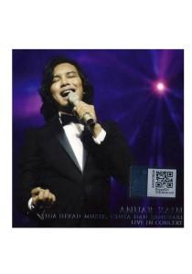 CD Anuar Zain Tiga Dekad Muzik, Cinta Dan Sanubari Live In Concert