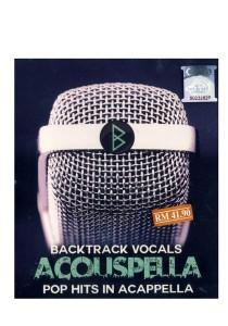 CD Backtrack Vocals Acouspella Pop Hits In Acappella