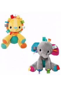 BRIGHT STARTS Tag 'n Play Pals (Grey)