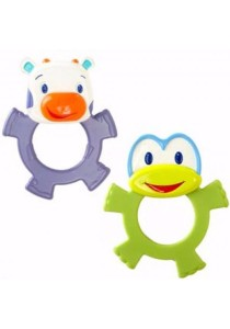 BRIGHT STARTS Dancing Teether Friends (Green)