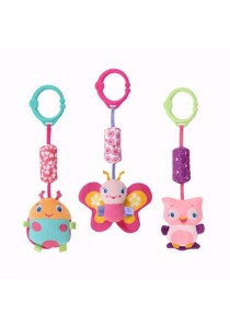 BRIGHT STARTS Pretty In Pink Chime Along Friends - 1pcs (Random Animal)