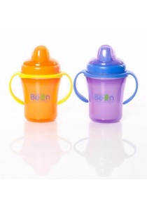 Little Bean 200ml Insulated Cup with TPE Spout (Purple)