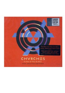 CD Chvrches The Bones Of What You Believe Asia Deluxe