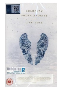 CD Coldplay Ghost Stories Live 2014