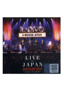 CD Il Divo Live In Japan