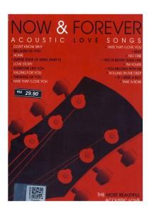 CD Instrumental Now & Forever Acoustic Love Songs