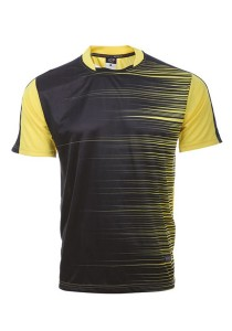 Dye Sublimation Jersey CDR 03 (Yellow)