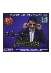 CD Saleem Terlajak Laris Koleksi 24 Lagu Hit & Terlaris