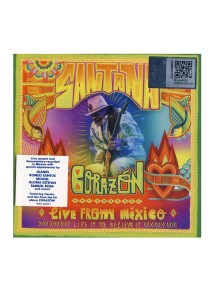 CD Santana Corazon Live From Mexico Live It To Believe It