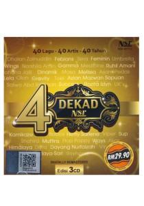 CD Various 40 Lagu , 40 Artist , 40 Tahun 4dekad Nsr