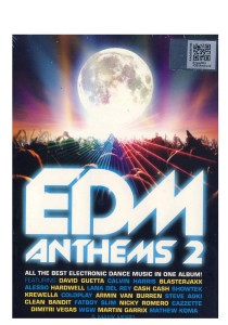CD Various Edm Anthems 2