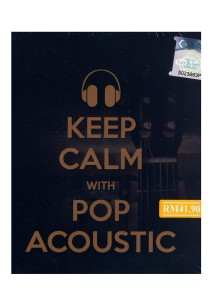 CD Various Keep Calm With Pop Acoustic