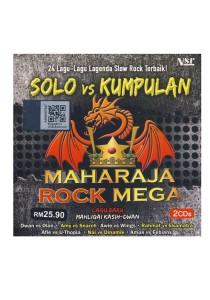 CD Various Maharaja Rock Mega Solo Vs Kumpulan