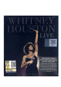 CD Whitney Houston Live: Her Greatest Performances