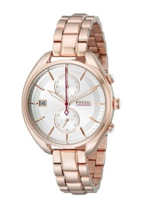 Fossil Women's CH2977 Land Racer Stainless Steel Watch (Rose Gold-Tone)