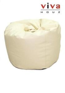 Cherry PVC Bean Bag (Beige)
