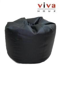 Cherry PVC Bean Bag (Black)