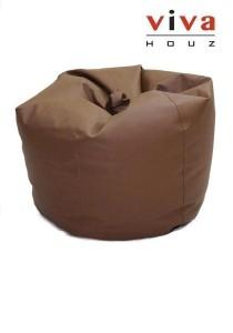 Cherry PVC Bean Bag (Brown)