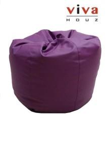Cherry PVC Bean Bag (Purple)