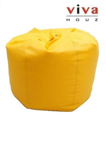 Cherry PVC Bean Bag (Yellow)