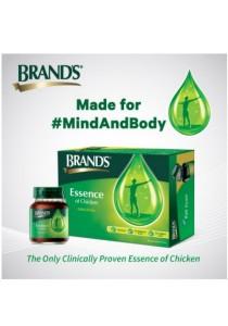 Brand's Essence of Chicken 6x70gm (4 packs) + FREE 1 pack of Prune 6x42ml