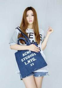5029 Choki Canvas Handbag