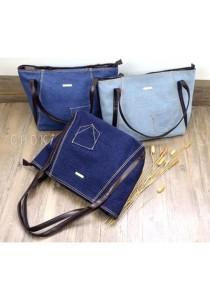 5114 Choki Denim Tote Bag