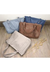 5123 Choki Signature Basic Shoulder Bag with Sling