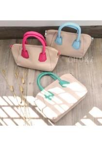 5125 Choki Macaron Colour Handbag with Sling