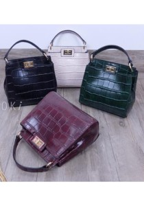 Choki Signature Elegant Handbag with Sling 6009