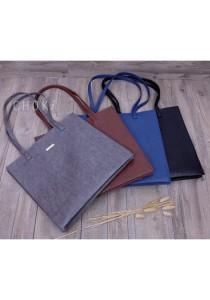 Choki Signature PU Leather Tote Bag 6011
