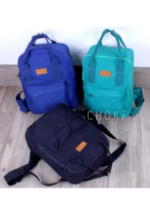 Choki Korean Canvas Backpack 6054