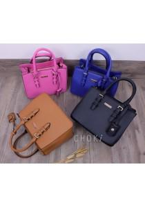 Choki Signature Classic Handbag with Sling 6069